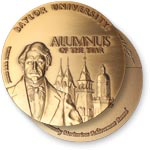 Alumna of the Year medal