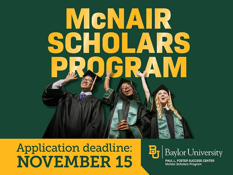 McNair Scholars Program