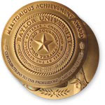 Distinguished Achievement Award medal