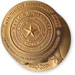 Distinguished Achievement Award medal