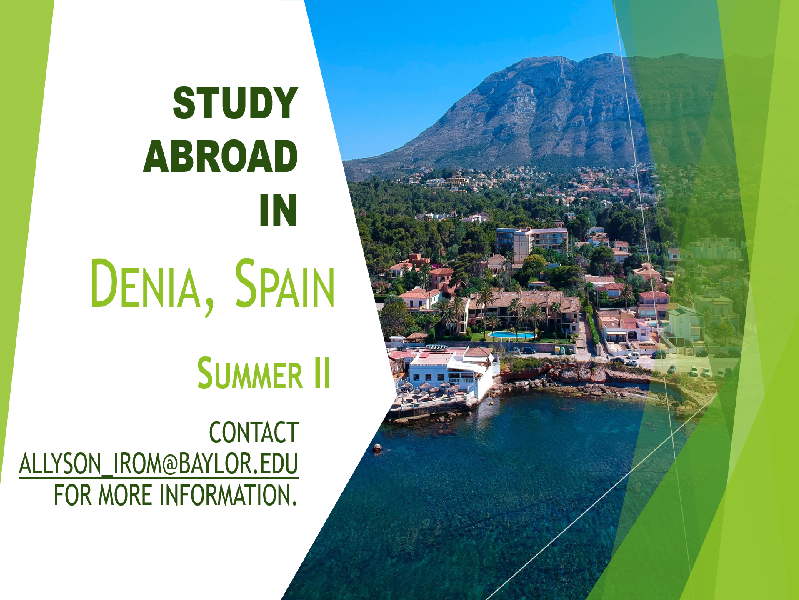 Spanish Study Abroad on the Mediterranean Coast!