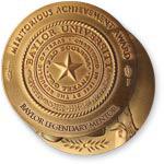 Baylor Legendary Mentors medal