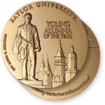Young Alumna of the Year medal