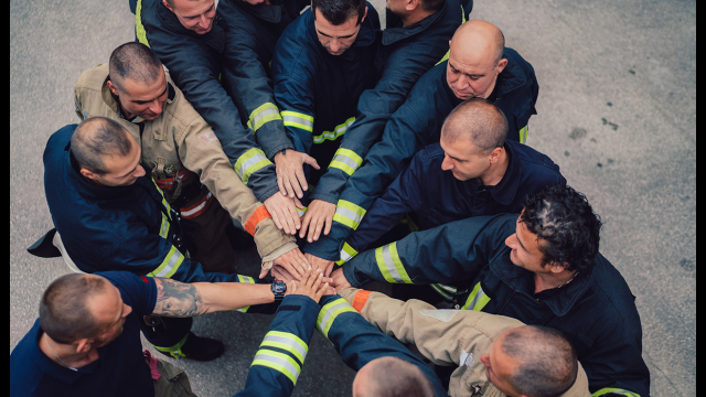 firefighters and stress
