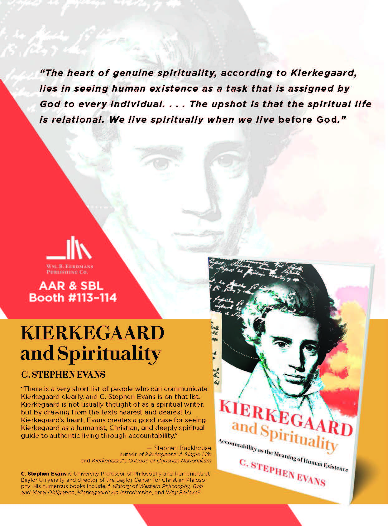 Back Cover of Kierkegaard and Spirituality