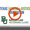 Texas Access to Justice Foundation Recognition During The November Baylor-Oklahoma Football Game