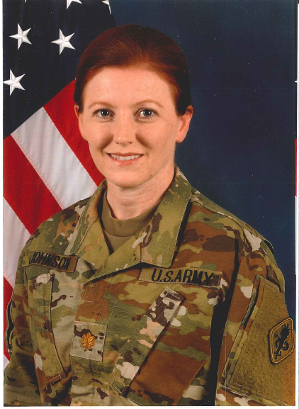 LTC Michelle Johnson, DNP, CRNA, Phase 2 Clinical Site Director: Darnall Army Medical Center