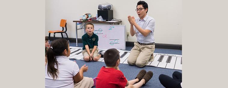 Piano Laboratory Program (children)