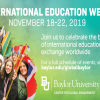 International Education Week: Open to all, celebrating all