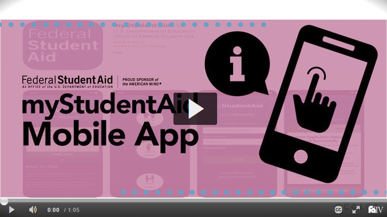 myStudentAid Mobile App