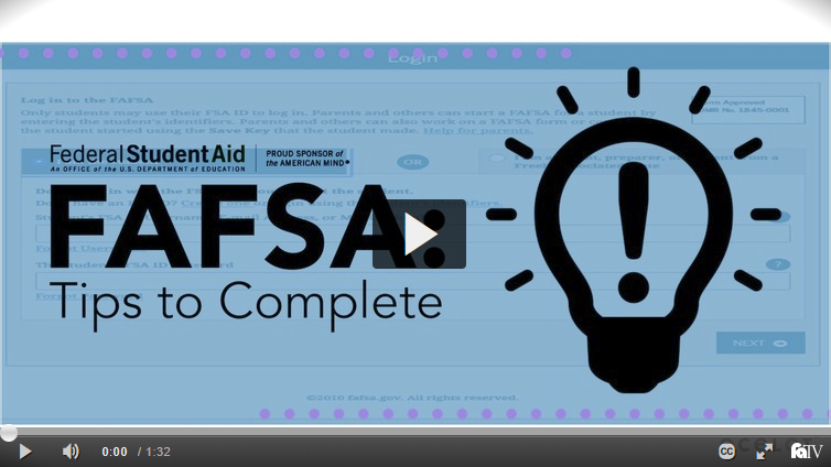 FAFSA: Tips to Complete