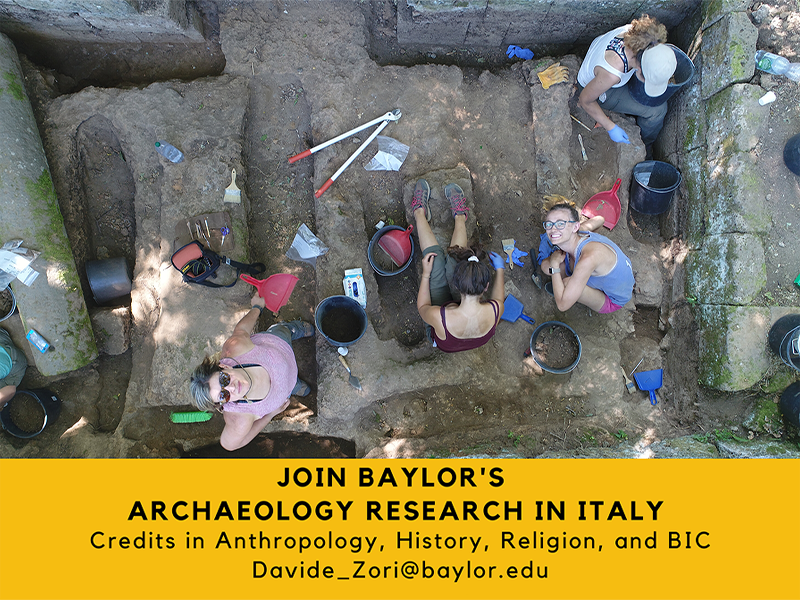 Archaeology Research in Italy Study Abroad