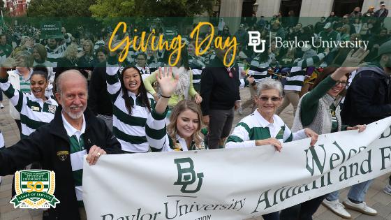 Baylor Giving Day Banner