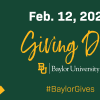 [Baylor Giving Day]