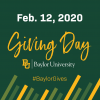 Baylor University Holds Baylor Giving Day on February 12