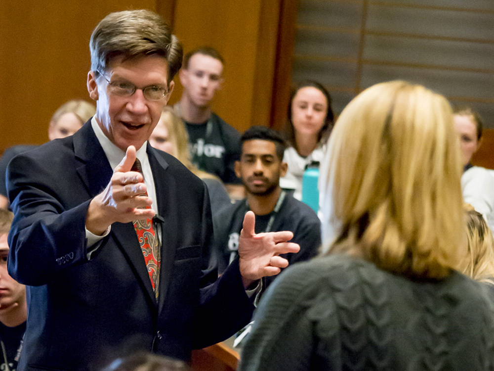 Baylor Law's Brad Toben is now the longest serving Dean of a U.S. Law School