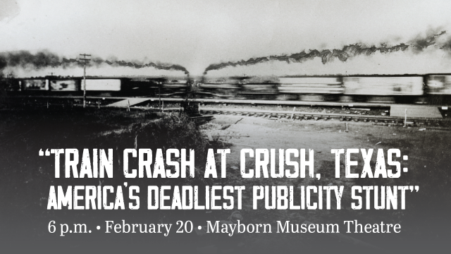 Crash at Crush Texas Collection Lecture