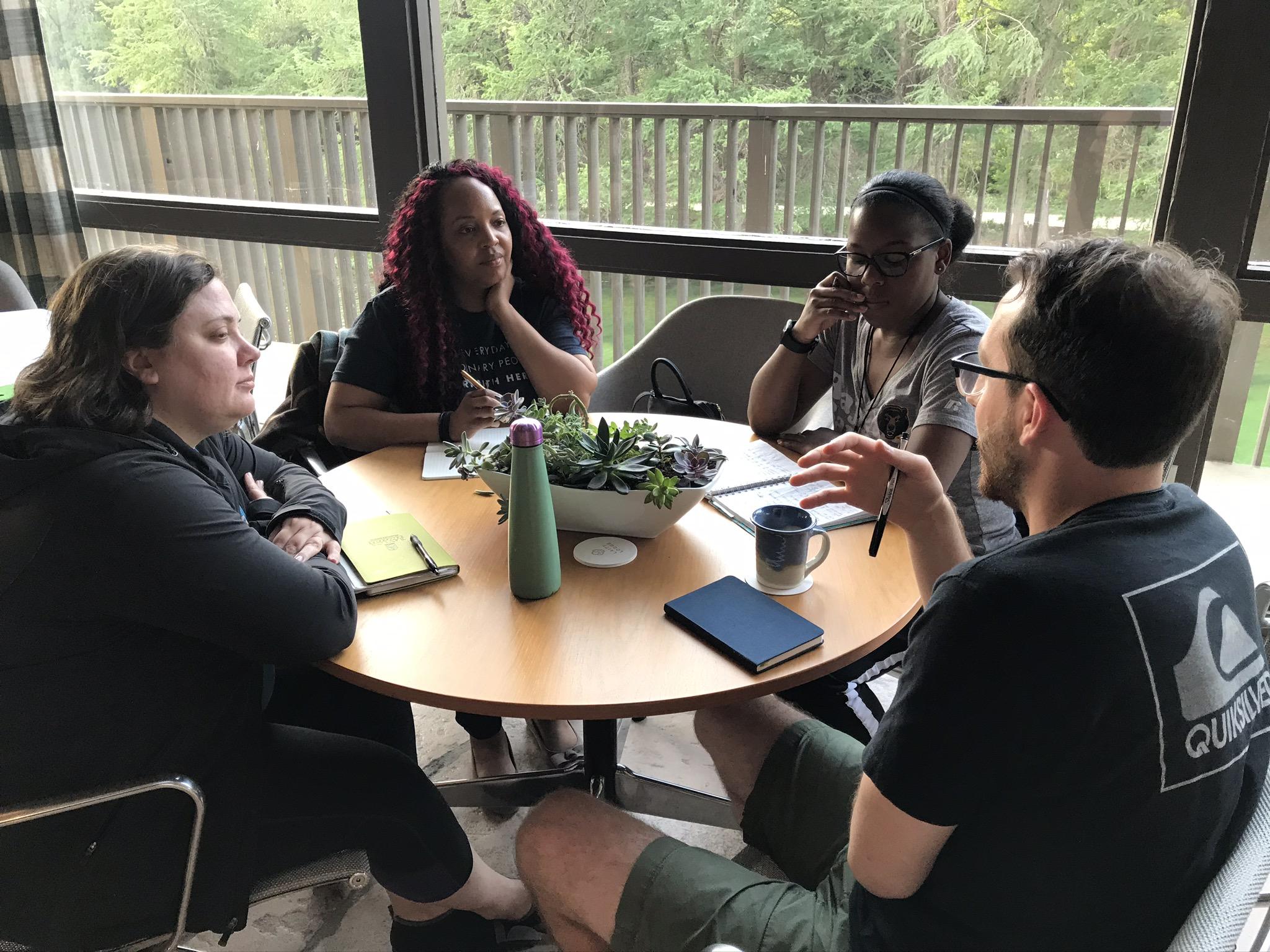 Discussion at Communio