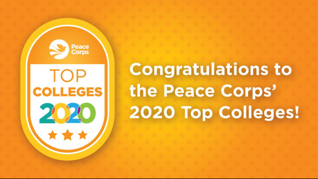 Peace Corps Top Colleges