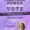 Postponed - Women's History Month Lecture