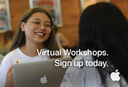 Apple: Virtual Workshops