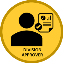 graphical representation of Division Approver