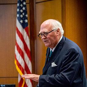 Headshot of Ambassador Olson