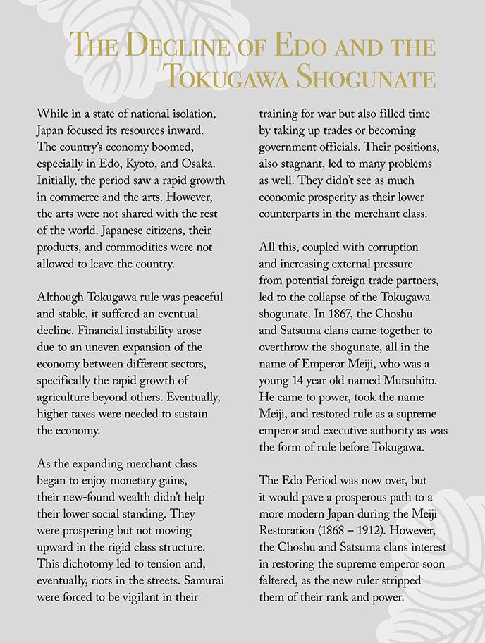 Decline of Edo and the Tokugawa Shogunate