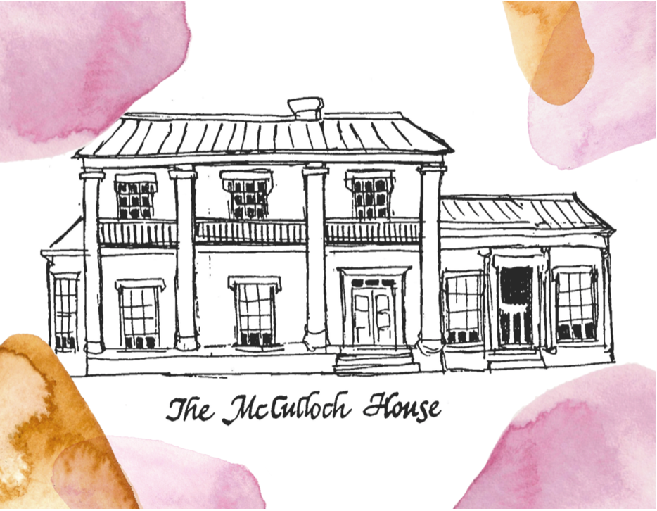 McCulloch House Coloring Page