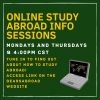 Study Abroad Virtual Info Sessions