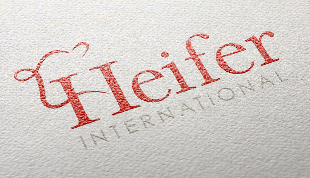Heifer International Logo Redesign, Harris Huckabee