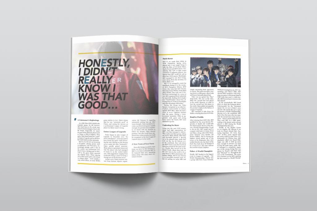 Time for Change Magazine Spread (Detail), Yixiu Li