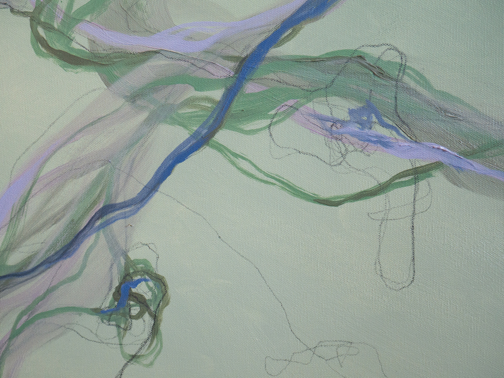 Did Margaret Love Amethyst? (Detail 1), Allison Overpeck, Oil and graphite on canvas