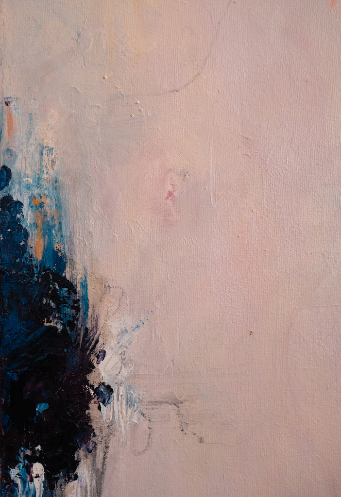 Louder Voices (Detail 2), Madison Rose, Oil on canvas