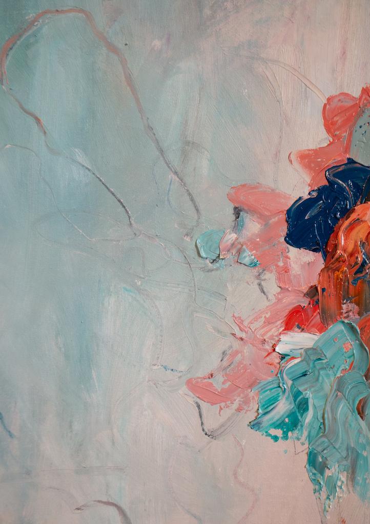 Understanding (Detail), Madison Rose, Oil on canvas