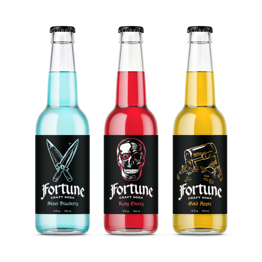 Fortune Soda Bottles, Brianna Wimberly