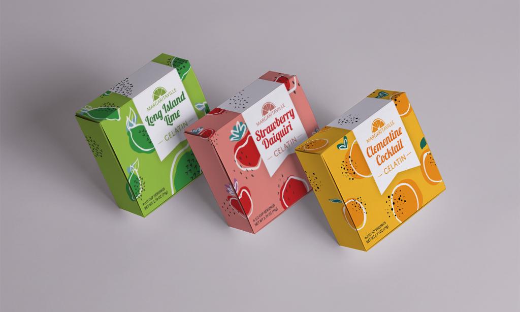 Margaritaville Package Redesign, Rachel Love