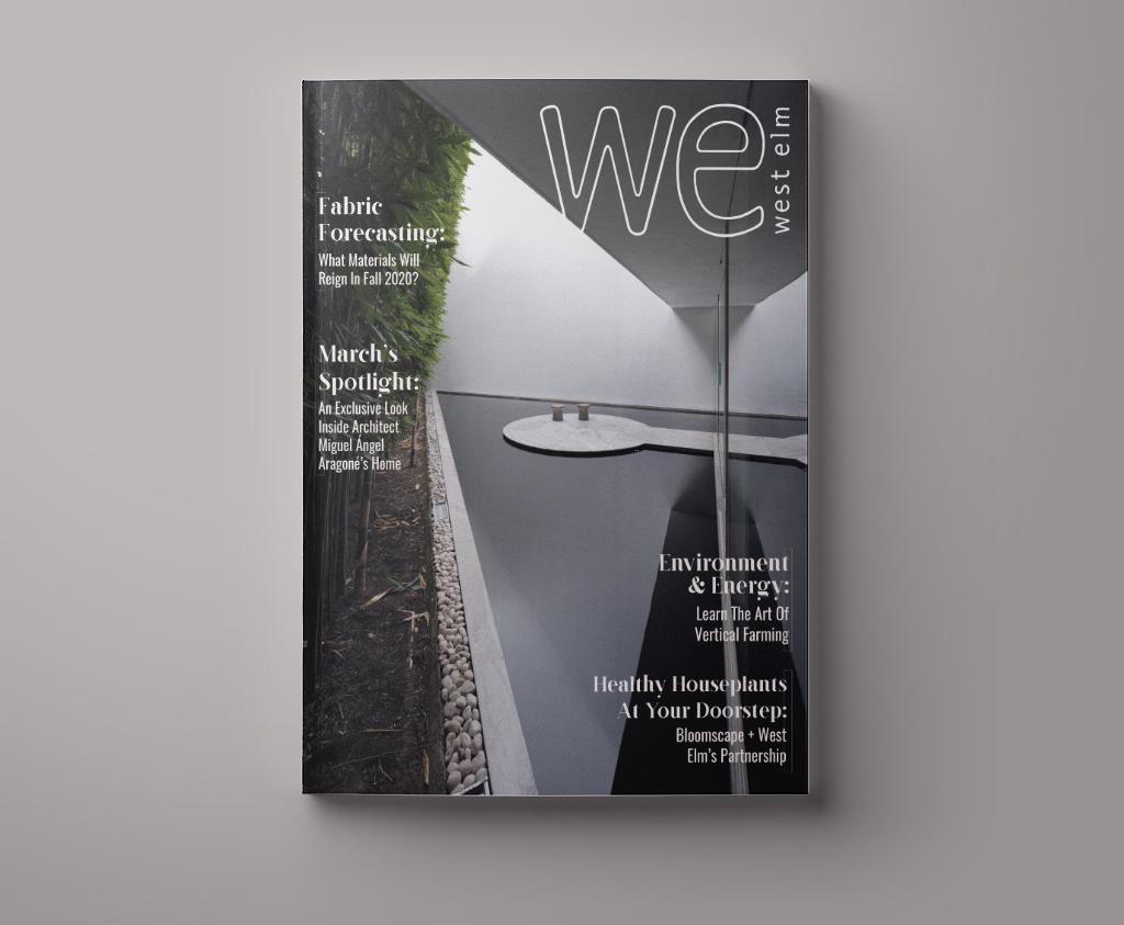 West Elm Editorial Spread, Rachel Love