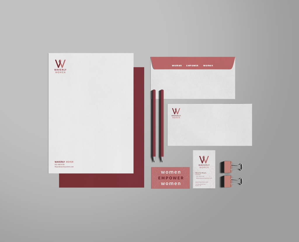 Waverly Logo Design, Rachel Love
