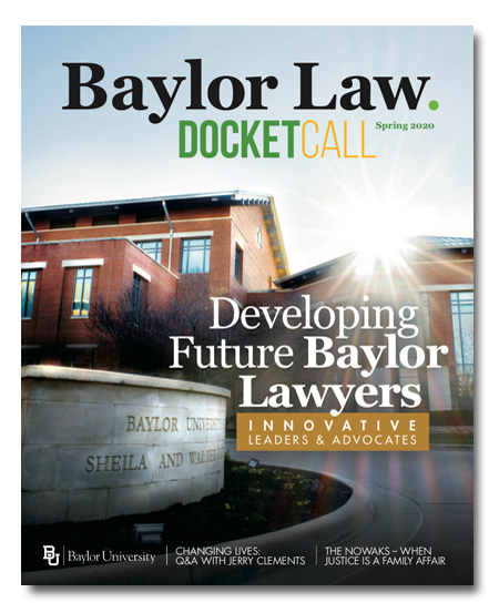 Cover of Current Issue of Docket Call