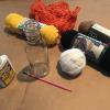 Art Lesson: Exploring Fiber Art (Decorative Vase)