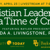 [Christian Leadership in a Time of Crisis]