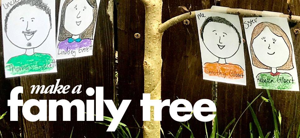 Mayborn At Home- Make A Family Tree