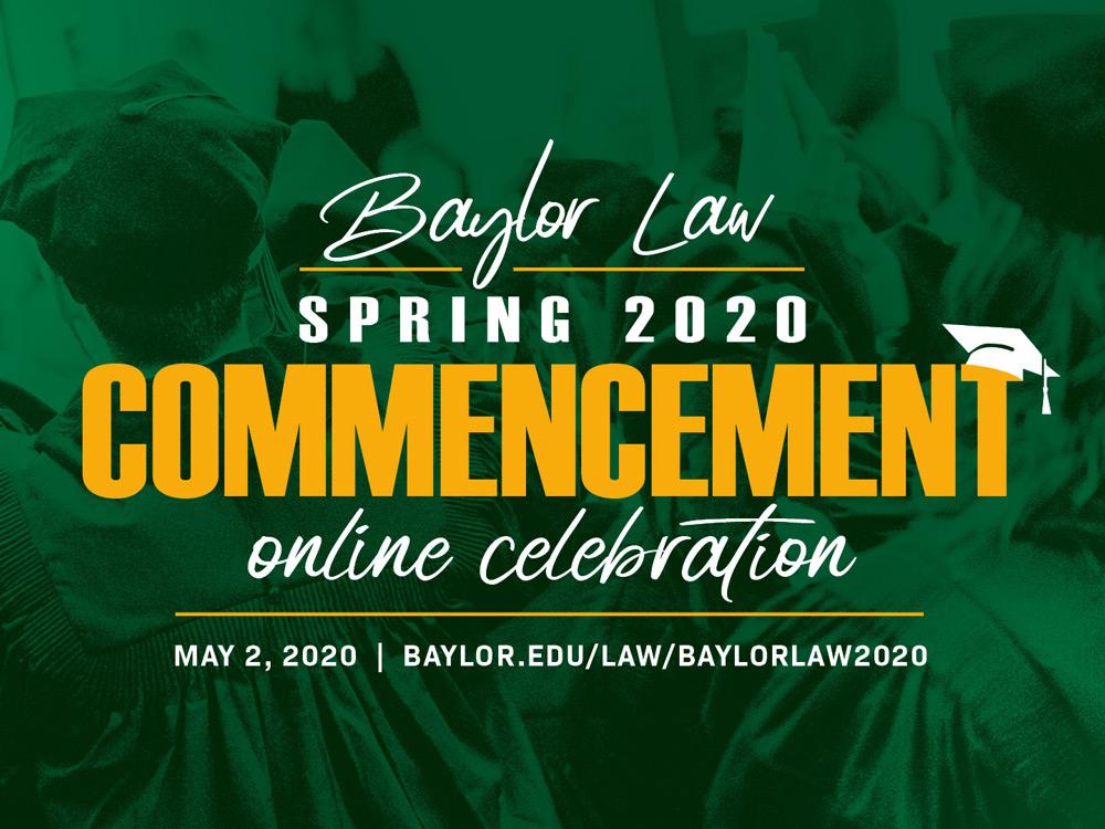 Congratulations Spring 2020 Graduates
