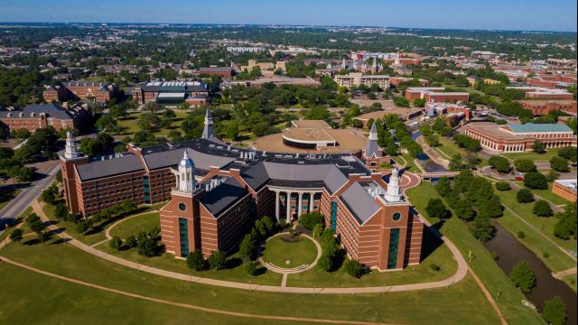 Full-Size Image: Baylor Campus