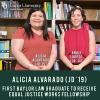 Baylor Lawyer Alicia Alvarado Becomes First Baylor Law Graduate to Receive Equal Justice Works Fellowship