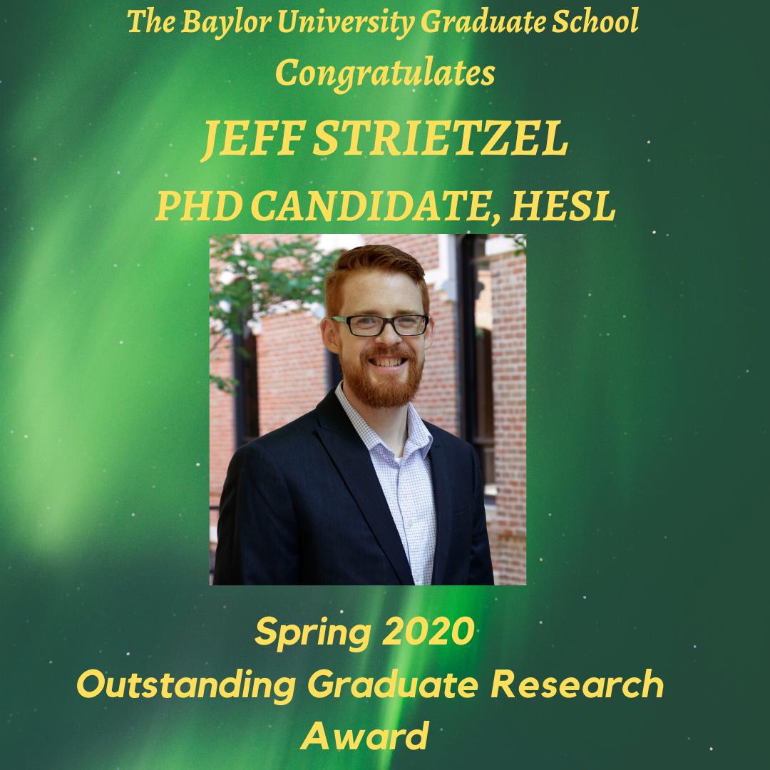 Outstanding Research Award Strietzel