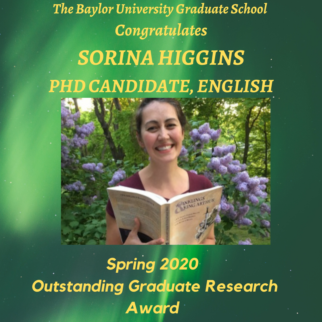 Outstanding Research Award Higgins
