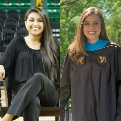 Lindsey Koch and Vanessa Martinez
