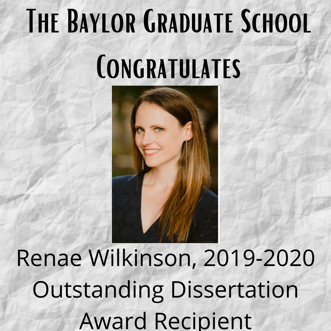Outstanding Dissertation Wilkinson